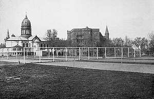College of Saint Benedict and Saint John's University - Tennis courts, 1918