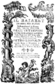 Anonymous - Il Bajazet - title page of the libretto - Florence 1789.png
