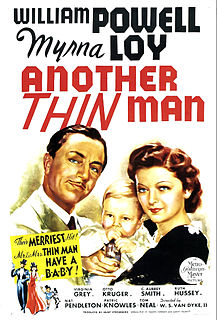 <i>Another Thin Man</i> 1939 film by W. S. Van Dyke