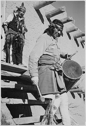 Northern Rio Grande National Heritage Area - San Ildefonso Pueblo, by Ansel Adams.
