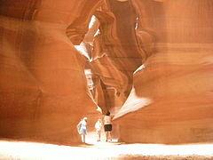 Ingresso dell'Upper Antelope Canyon