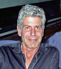Anthony Bourdain on WNYC-2011-24-02.jpg