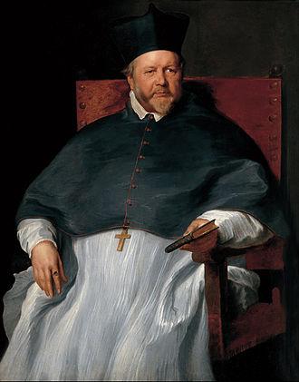 Johannes Malderus - Portrait of Malderus from the Studio of Anthony van Dyck