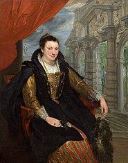 Portrait d'Isabella Brant