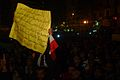Anti-Govt Protestor in darkness, Egypt 2011.jpg