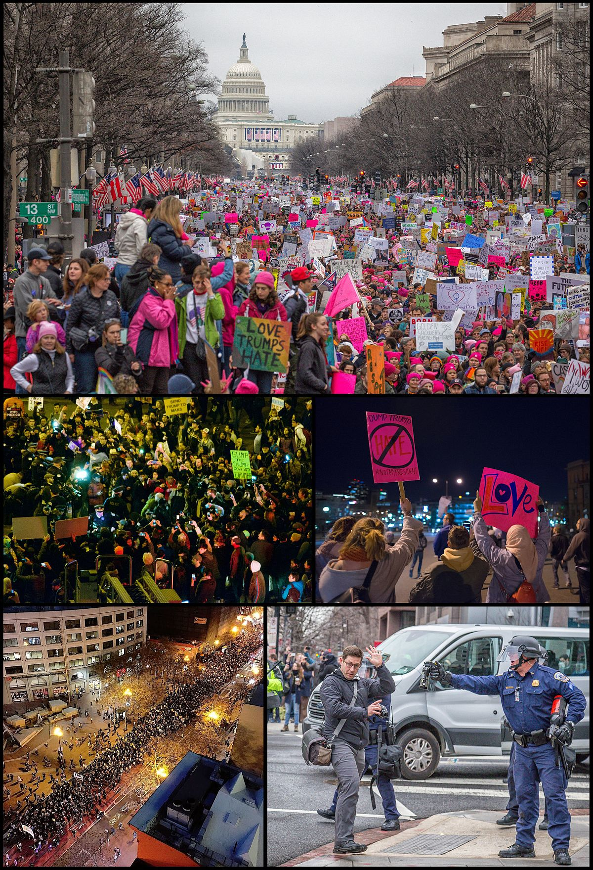 Protests against Donald Trump - Wikipedia