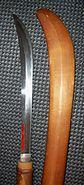 Antique Japanese naginata 1