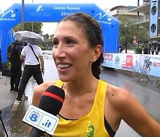 Antonella Palmisano Italian racewalker