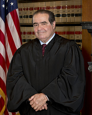 Portrait of Antonin Scalia, Associate Justice, U.S. Supreme Court