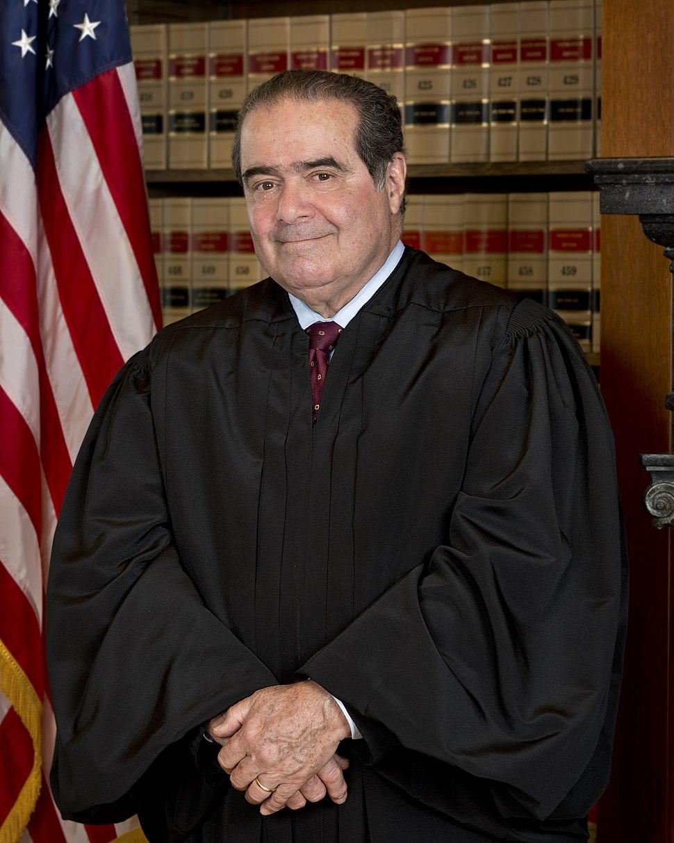 Antonin Scalia Official SCOTUS Portrait
