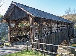 Anzenwiler Gedeckte Holzbrücke über den Necker, Mogelsberg SG - Ganterschwil SG 20190420-jag9889.jpg
