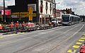 Anzin & Valenciennes - Travaux de raccordement des lignes A & B du tramway de Valenciennes à la Croix d'Anzin le 19 août 2013 (05).JPG