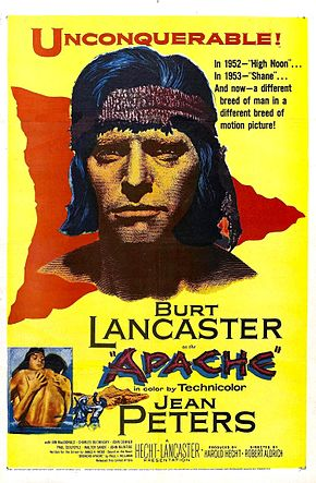 Description de l'image  Apache (film) poster.jpg.