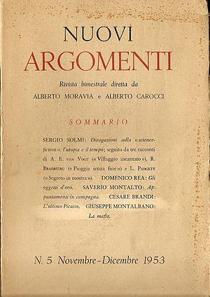 Nuovi Argomenti - Nuovi Argomenti of 1953 No. 5.