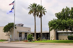 Aransas County, Texas - Image: Aransas county courthouse 2014