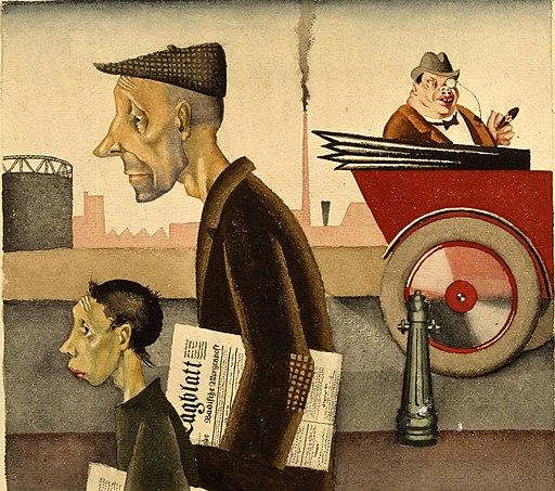 Arbeit schändet - Georg Scholz