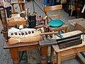 Arbeitsgeräte eines Bürstenmachers.JPG