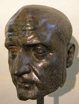 Trebonianus Gallus - Bust of Trebonianus Gallus