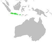 Areale Padda oryzivora