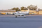 Armada Aviation (VH-XAQ) Pilatus PC12-45 taxiing at Wagga Wagga Airport (3).jpg