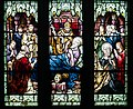 Armagh Roman Catholic Cathedral of St. Patrick West Aisle Window 01 Lower Lights St. Patrick's Death 2013 09 24.jpg