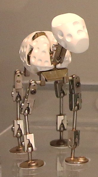 Armature (sculpture) - Armature for Gromit of Wallace and Gromit