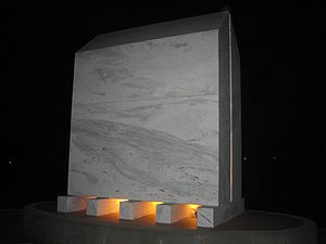 Armenian Canadians - The Armenian Genocide memorial in Montreal, by artist Francine Larrivée