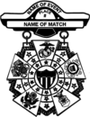 Army Interservice Competition Badge-Black and White.png