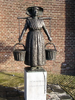 Arnemuiden - Image: Arnemuidse Visleurster