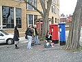 Art lesson by the postboxes near Windsor Castle - geograph.org.uk - 1168768.jpg