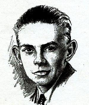 Arthur K. Barnes - Arthur K. Barnes, as pictured in the February 1932 issue of Wonder Stories.