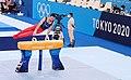 Artur Davtyan on the pommel horse in Olympic gymnastics.jpg