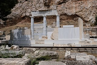 temple complex in ancient Athens