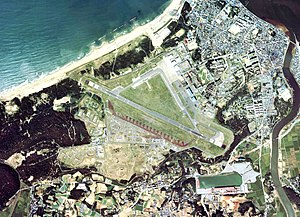 Ashiya Air Field Aerial Photograph