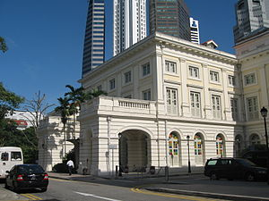 Chief Secretary, Singapore - The Colonial Secretariat and the Colonial Secretary's Office (later Chief Secretary's Office) were located in the Empress Place Building.