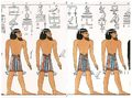 Asiatic people in Book of Gates (rendering).png