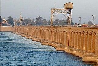Assiut Barrage Dam in Asyut