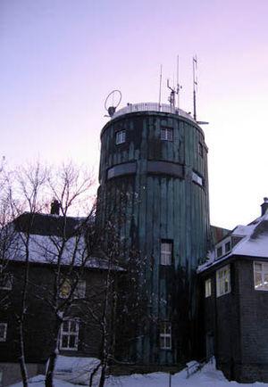 Kahler Asten - The Asten tower in winter