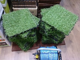 Artificial turf - Artificial turf square matts