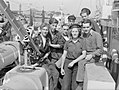 At the Light Coastal Forces Base HMS Hornet, Gosport, 15 August 1944 A25147.jpg