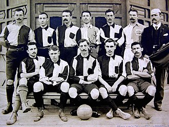 Club Atlético del Rosario - The football team that won the Tie Cup in 1905.