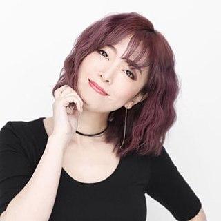 Atsuko Enomoto Japanese singer and voice actress