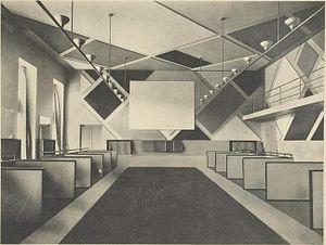 Aubette (building) - Aubette dance hall in 1929.