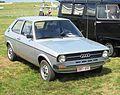 Audi 50 (ca 1976) at Schaffen-Diest Fly-drive 2013.JPG