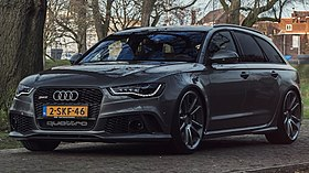 audi rs6 wikip dia. Black Bedroom Furniture Sets. Home Design Ideas
