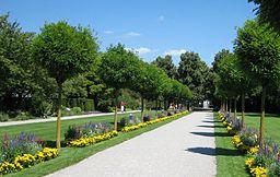 Augsburg Bot Garten Ausgang