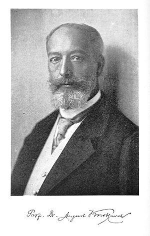 August Knoblauch - August Knoblauch