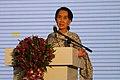Aung San Suu Kyi at the Suu Foundation Launch (13037737374).jpg