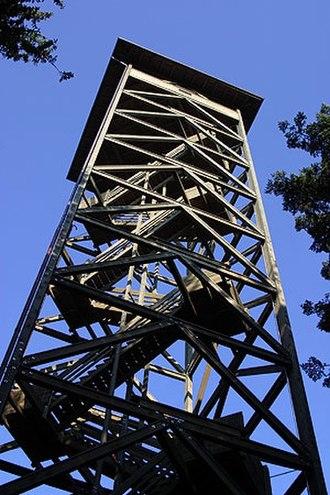 Chuderhüsi Tower - Image: Aussichtsturm Chuderhuesi