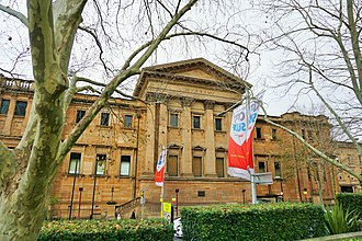 The Australian Museum is the oldest museum in Australia Australian Museum - Joy of Museums - External.jpg